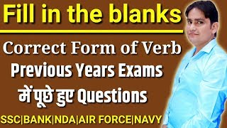 Download FILL IN THE BLANKS BASED ON TENSE | CORRECT FORM OF VERB | SSC | BANK | PO | CLERK | VIKASH SIR Video