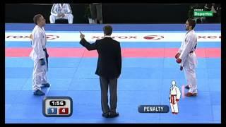 Download Final Cto. Europeo Absoluto Karate Kumite individual masculino -60Kg 12 Video