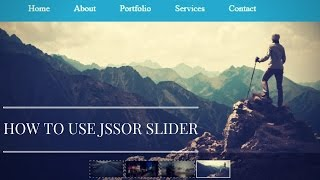 Download How to quickly Implement Jssor Slider in your project Video