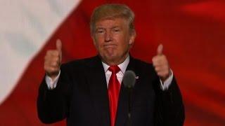 Download Donald Trump's entire Republican convention speech Video