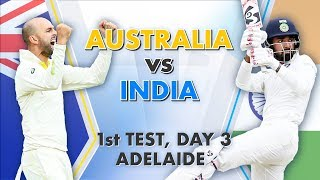 Download Australia vs India, 1st Test, Day 3: Match Story Video
