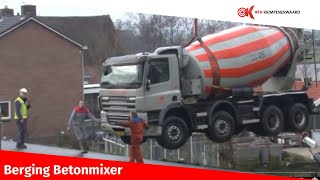 Download Berging betonmixer Video