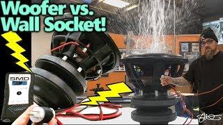 Download Woofer vs. Wall Socket - Pour it on PLUG IT IN! Series & Parallel - SMDv2 15″ Making it RAIN Video