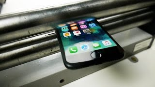 Download What Happens If You Squash iPhone 7 in a Metal Roller? Video