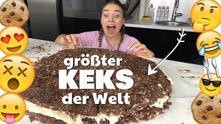 Download GRÖßTER KEKS der WELT / 30.000 Kalorien / 6 kg !! :O | BibisBeautyPalace Video