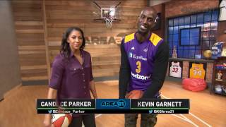 Download Area 21: KG & Candace do the Walk | Inside the NBA | NBA on TNT Video