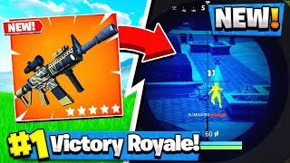 Download *NEW* Fortnite THERMAL-SCOPED AR GAMEPLAY! - Fortnite Battle Royale Video