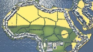Download When City Planning in Cities Skylines creates the Earth itself Video