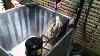 Download HVAC Service- Cleaning a Condenser Coil Video