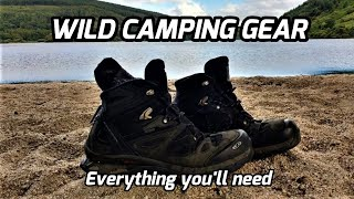Download WILD CAMPING GEAR LIST/ IRELAND/ EVERYTHING YOU NEED Video