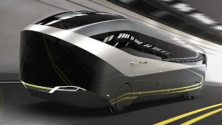 Download Future Bus Neoplan Aero 24-7 Aerodynamic High Efficiency Coach Video