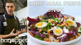 Download Chris Meal Preps Lunch For a Week | From the Test Kitchen & Healthyish | Bon Appétit Video