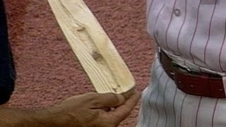 Download Sabo breaks bat, ejected for corked lumber Video
