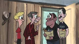 Download StoryCorps 9/11 animation - John and Joe Video
