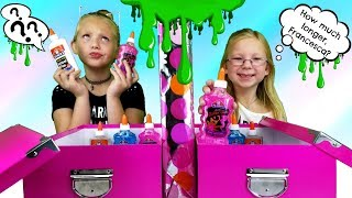 Download MYSTERY BOX OF SLIME TWIN TELEPATHY CHALLENGE!!! Video