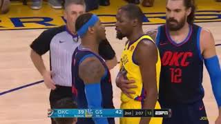 Download Every Warriors vs Thunder BEEF/FIGHT MOMENTS Since Kevin Durant Joined The Warriors Video