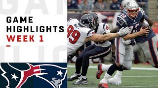 Download Texans vs. Patriots Week 1 Highlights | NFL 2018 Video