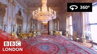 Download 360° Video: Buckingham Palace Tour - BBC London Video
