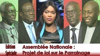 Download Edition spéciale - Assemblée Nationale : Projet de loi sur le Parrainage Video