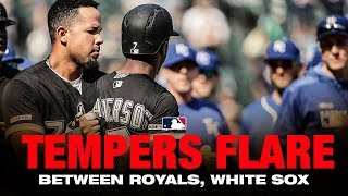 Download Benches Clear in Chicago after Tim Anderson is hit by pitch Video