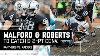 Download Walford Makes Great TD Catch & Carr Finds Roberts for 2-Pt Conversion   Panthers vs. Raiders   NFL Video