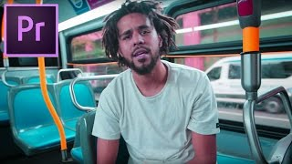 Download How to Color Grade like the ″J Cole - False Prophets″ Music Video (Adobe Premiere Pro CC Tutorial) Video