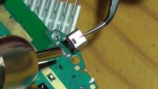 Download öffnen des Samsung GALAXY Tab3 defekte Micro USB Buchse ausbauen Video