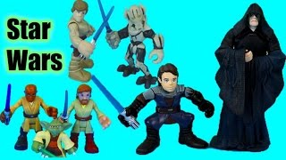 Download Star Wars Luke Skywalker goes back in time to save Anakin defeat Darth Sidious General Grievous yoda Video