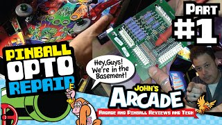 Download John tries to fix his Revenge From Mars Pinball Trough Opto issue - Part #1 Video