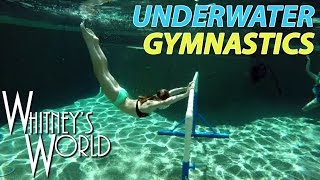 Download Underwater Gymnastics | Whitney & Blakely Bjerken Video