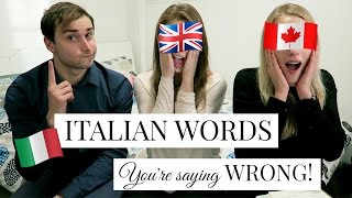 Download 20 ITALIAN WORDS YOU'RE SAYING WRONG! Video