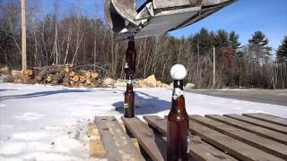Download Beer Bottle Excavator Trick Video