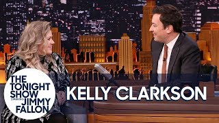 Download Kelly Clarkson and Jimmy Remember the First Time They Met on The Tonight Show Video