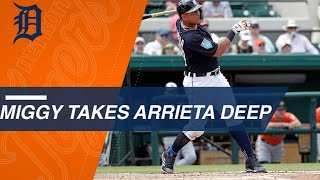 Download Miggy smacks a solo home run off of Jake Arrieta Video