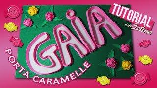 Download PORTA CARAMELLE per Festa di Compleanno DIY TUTORIAL Candy Holder GOMMA EVA/CREPLA/FOMMY/FELTRO Video