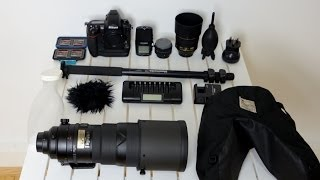 Download Wildlife photography equipment [ What to take for a safari] Video