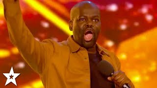 Download HILARIOUS Comedian Daliso Chaponda WINS GOLDEN BUZZER! | Britain's Got Talent 2017 Video