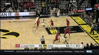 Download Iowa State at Iowa - Men's Basketball Highlights Video