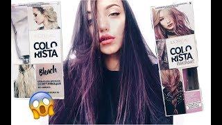 Download L'Oréal COLORISTA/лавандовые волосы/violet hair Video