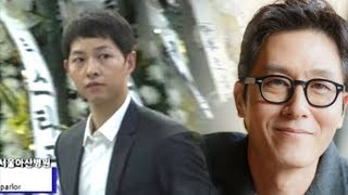 Download Song Joong Ki Immediately Goes to Kim Joo Hyuk's Funeral after His Wedding Video