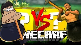 Download Minecraft: GETTING OVER IT LUCKY BLOCK CHALLENGE   GET ON THE MOUNTAIN Video