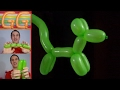 Download Como hacer un perrito con globos largos - globoflexia facil - perrito facil con globos Video