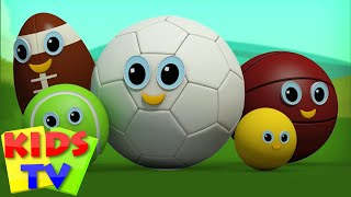 Download Sports Ball Finger Family | Football Finger Family | Kids Rhymes | Rhymes For Children Videos Video