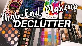 Download DECLUTTERING HIGH-END MAKEUP PALETTES!! GETTING RUTHLESS!! Video