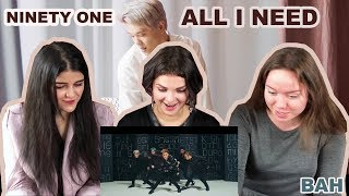 Download Реакция на NINETY ONE - ALL I NEED | MV Reaction Video