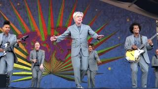 "Download David Byrne 4/29/18 ""This Must Be The Place"" at Jazz Fest weekend 1 in New Orleans Video"