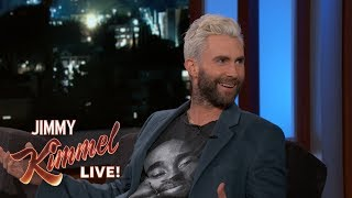 Download Adam Levine Almost S**t Himself While His Wife Was in Labor Video