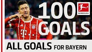 Download Lewandowski's Century - 100 Bayern Goals Video