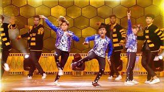 Download Ditya Bhande BEST Dance Performance On Stage | Ananda Vikatan Cinema Awards 2018 Video