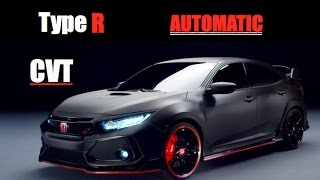 Download 2018 Honda Civic Type R Automatic CVT - Inside Lane Video